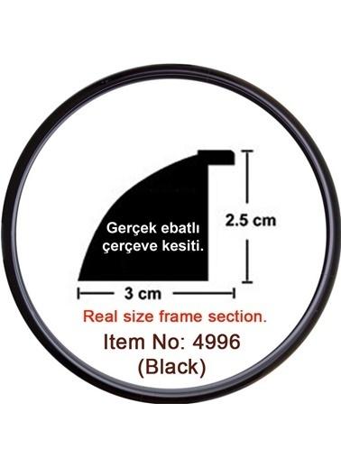 Educa Heidi Daire Çerçeve Siyah 3Cm 4996 Renkli